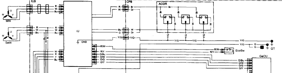 electric start generator wiring diagram